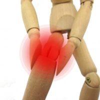交通事故で下肢の後遺障害となったイラスト