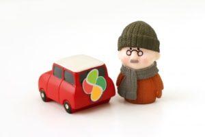 高齢者の運転免許返納の画像
